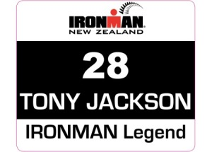 Retired Ironman Number