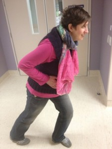 Lunges during labour